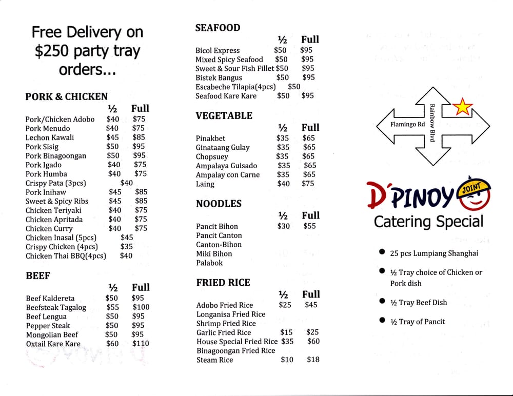 Photo Of D Pinoy Joint Las Vegas Nv United States Catering