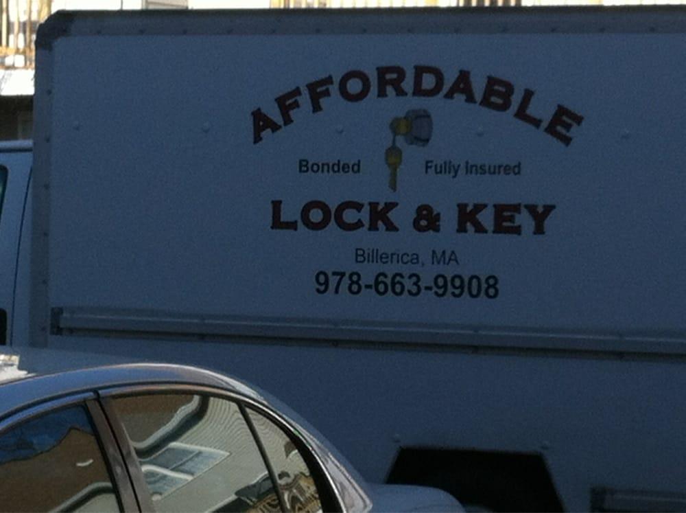 Affordable Lock & Key: 295 Boston Rd, North Billerica, MA