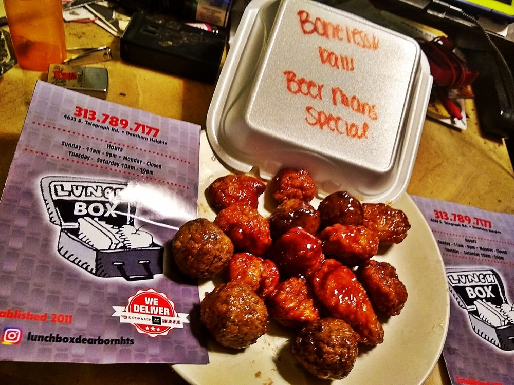 Lunch Box: 4633 S Telegraph Rd, Dearborn Heights, MI