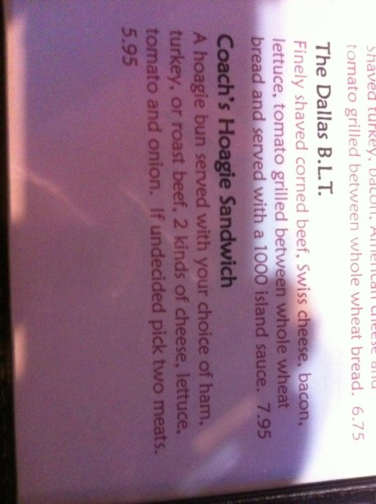 Coach's Restaurant & Bar & Off-Sale Liquor: Hwy 6 & 210, Deerwood, MN