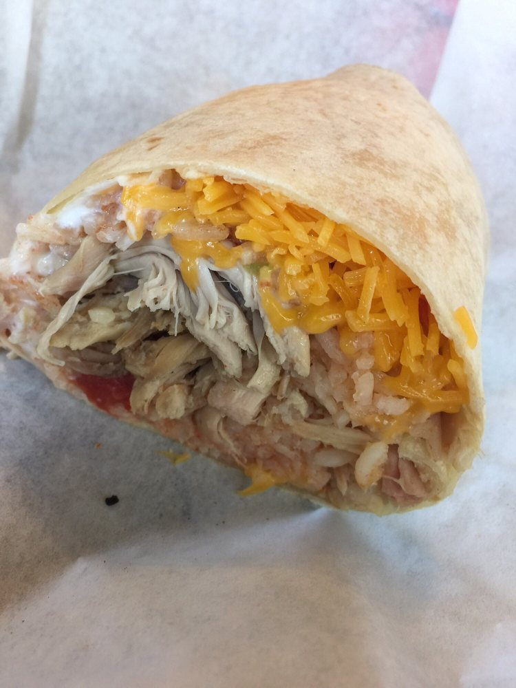 Butchers Kitchen Char B Que Reno : BBQ chicken burrito no beans. - Yelp