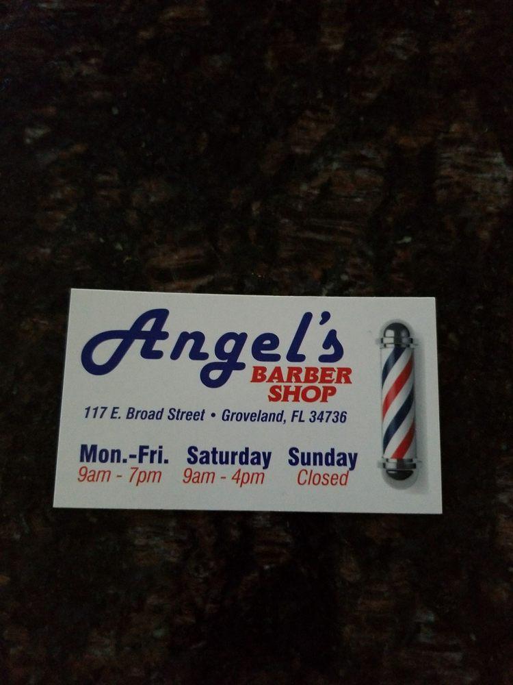Angel's Barber Shop: 117 E Broad St, Groveland, FL