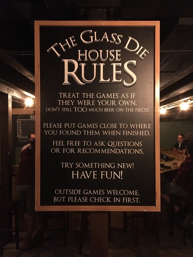 House rules - Yelp