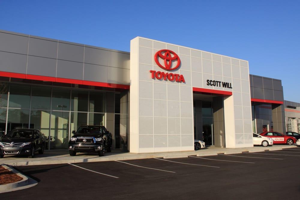 Scott Will Toyota Indhent Et Tilbud Bilreparation