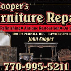 Photo Of Cooper S Furniture Repair Lawrenceville Ga United States