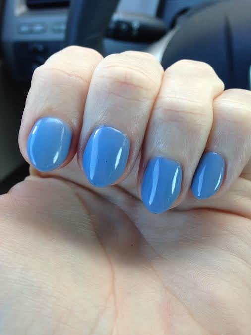 Periwinkle Almond Nails by AJ - Yelp