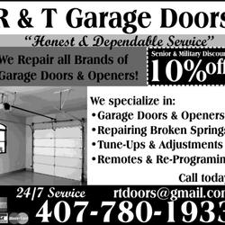 photo of r u0026 t garage doors winter springs fl united states