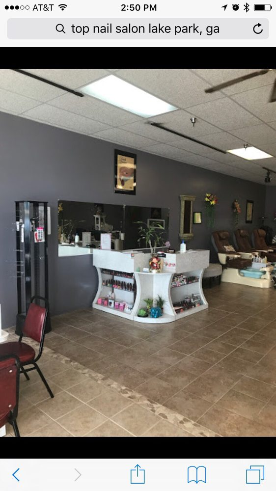 Top Nail Salon: 1174 Lakes Blvd, Lake Park, GA
