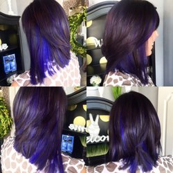 Capelli salon 41 photos hair stylists 2015 main dr photo of capelli salon fayetteville ar united states purple lowlights with dark pmusecretfo Choice Image