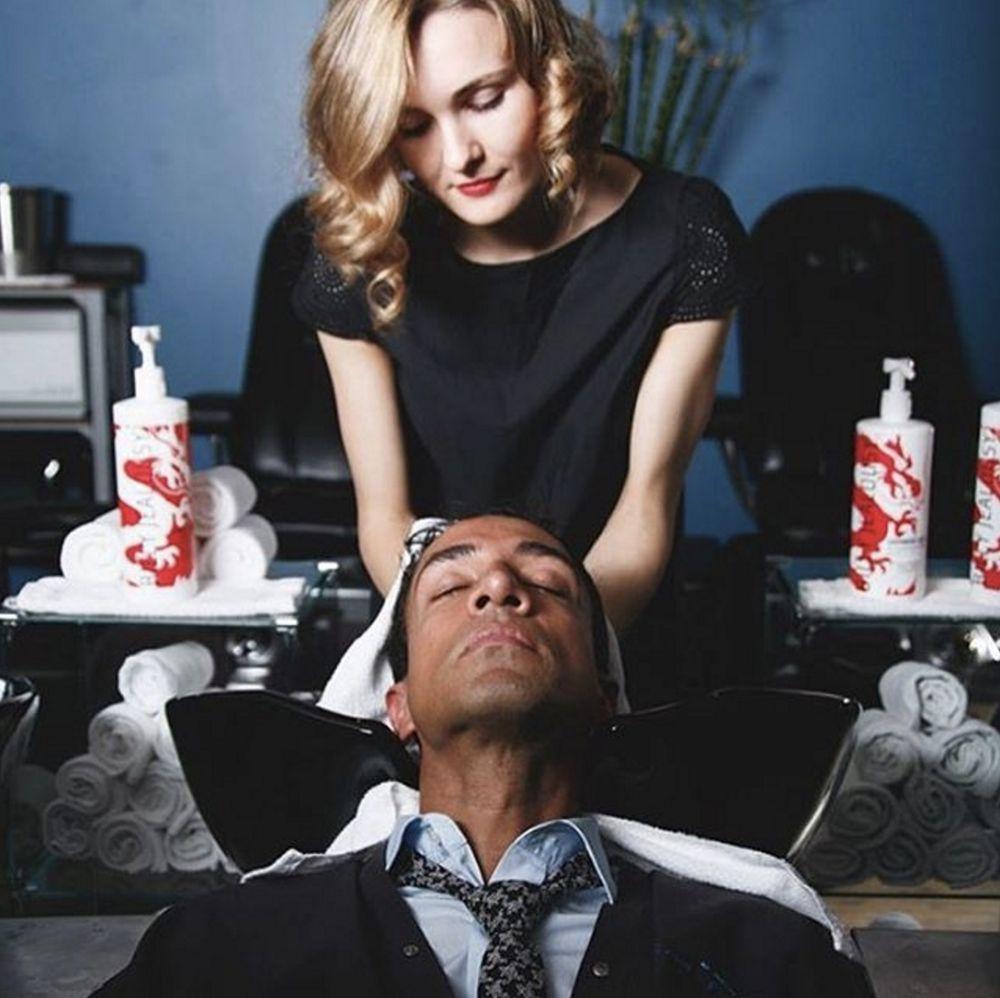 Shampoo And Scalp Massage Pre Haircut Yelp