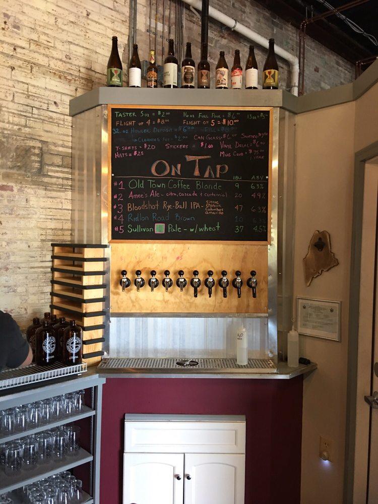 Corner Point Brewing: 1 Sullivan St, Berwick, ME