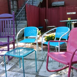 Photo Of Cultured Swirl   Indianapolis, IN, United States. Colorful Chairs  On The