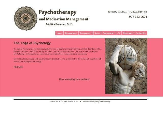 Malika Burman, MD - Holistic Psychiatry - CLOSED