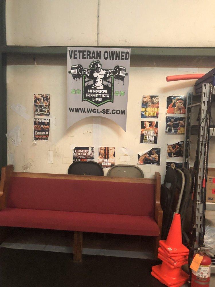 Warrior Saints Boxing Gym: 237 Tolar St, Fayetteville, NC