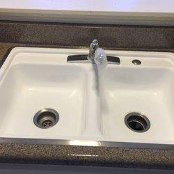 Reglazing Kitchen Sink Master tub reglazing 54 photos refinishing services 609 photo of master tub reglazing thousand oaks ca united states kitchen sink workwithnaturefo