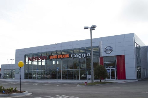Coggin Nissan on Atlantic