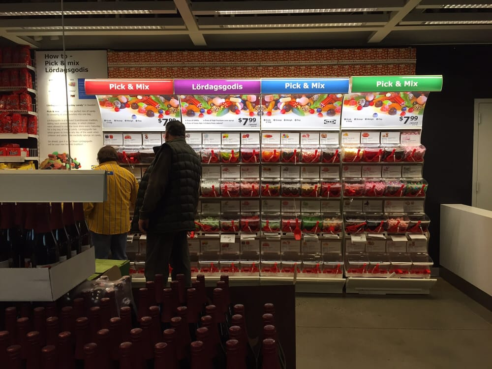 You can candy now at IKEA 7 99 a lb Yelp