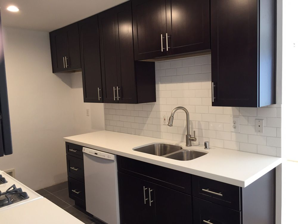 Photo Of Mtd Kitchen North Hollywood Ca United States Espresso Cabinets