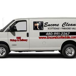 Encore Cleaners Van