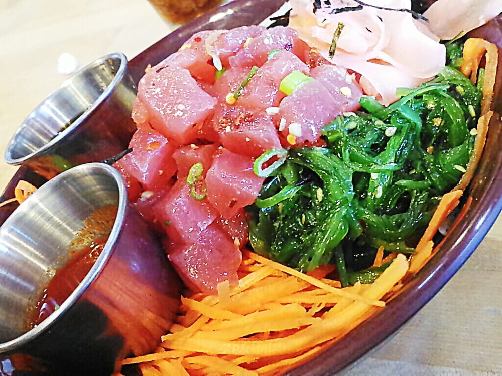 Poke bowl yelp for Fish delivery near me
