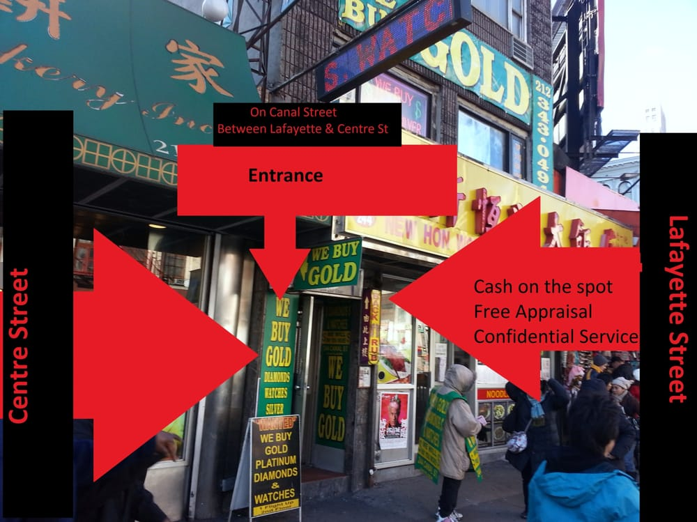 Jewelry specialties pawn shops 244 canal st chinatown for Adler s jewelry canal street