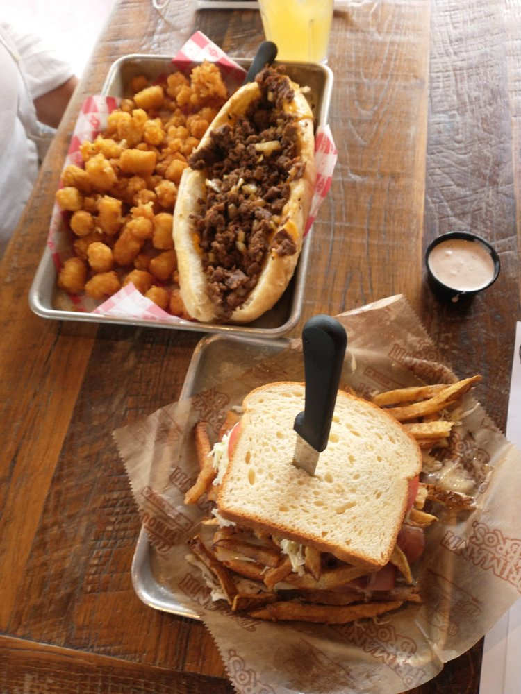 Food from Primanti Bros