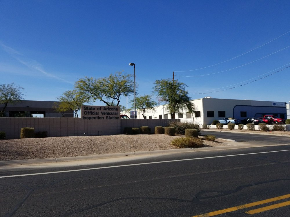 ADEQ Vehicle Emissions Station: 2360 S Airport Blvd, Chandler, AZ