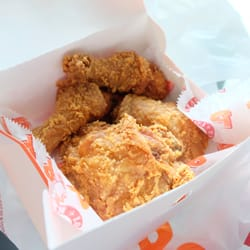 photo of popeyes louisiana kitchen toronto on canada spicy chicken breasts and - Popeyes Louisiana Kitchen Spicy Chicken Wing
