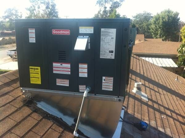 Rooftop Package Unit With New Roof Curb Yelp