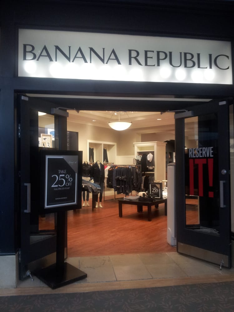 Search for a Banana Republic Near You