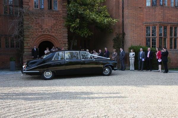 Photo Of Chartwell Wedding Cars Southampton Hampshire United Kingdom Our Daimler At