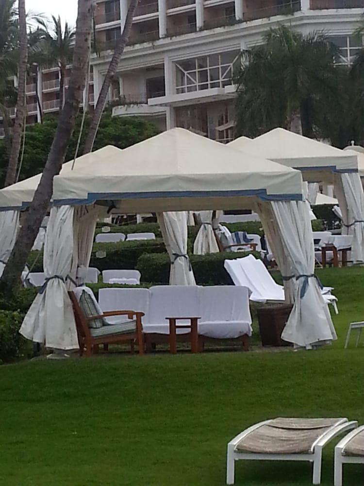 Photo of Cabanas at the Grand Wailea - Kihei HI United States. Premium & Premium Cabanas (Activity Pool Cabanas #1-6 and Adult Pool Cabanas ...