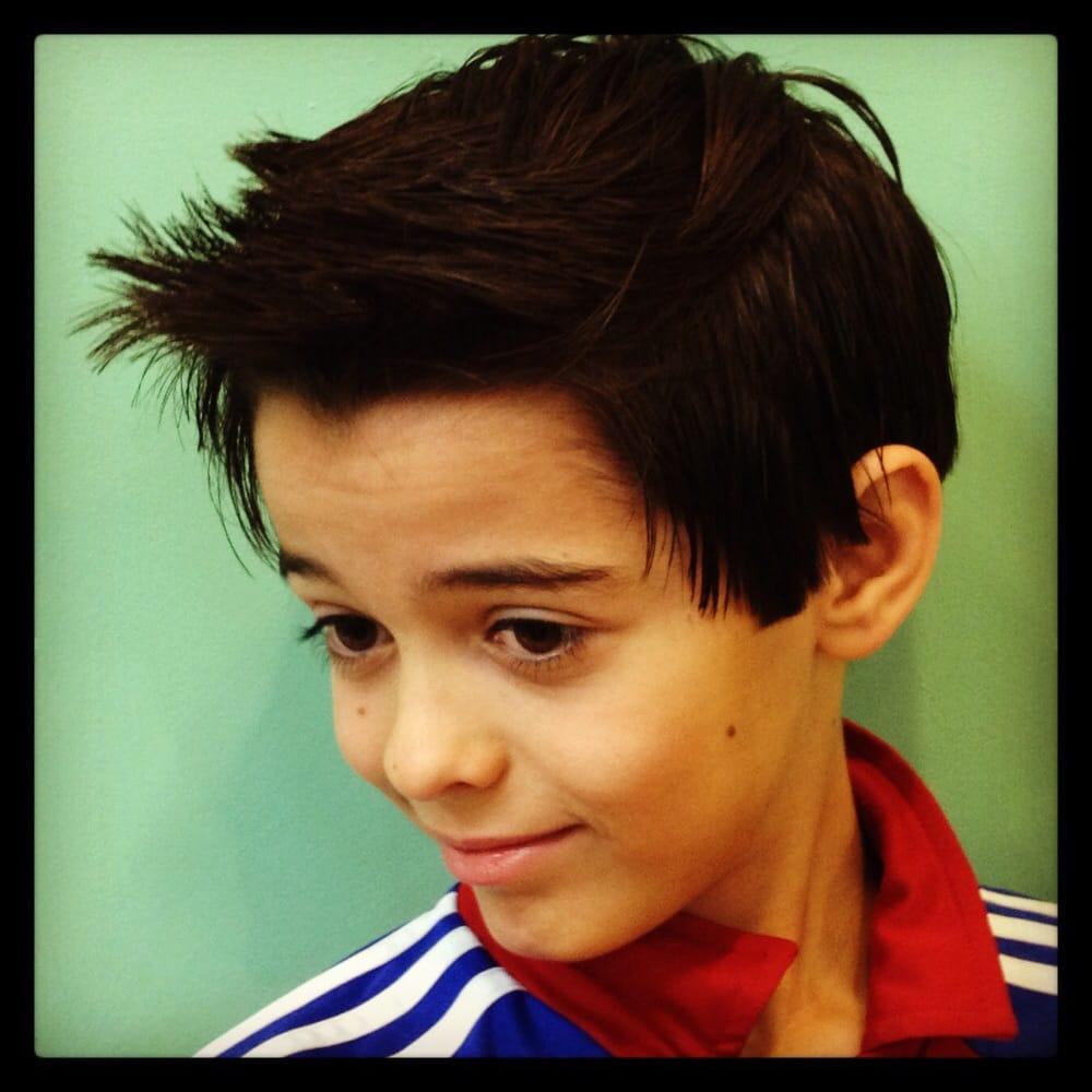 He Wanted A Soccer Style Haircut Ala Ronaldo Yelp