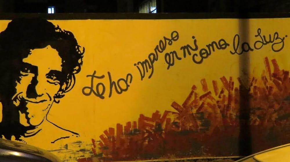 Mural Spinetta: Chile 257, Córdoba, X