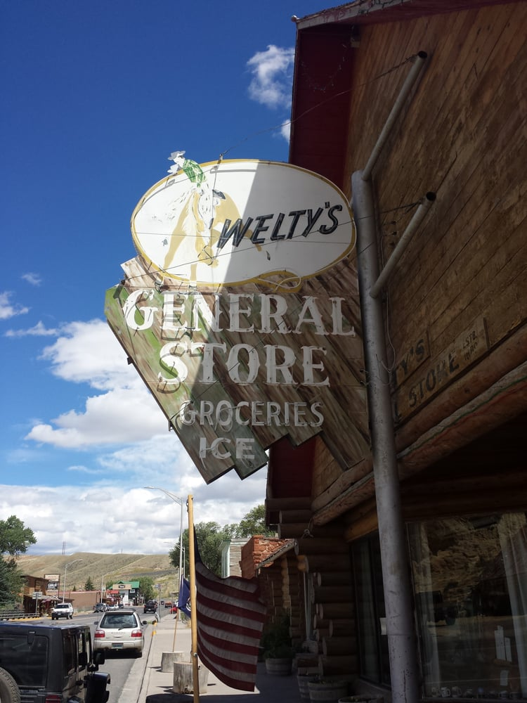 Welty's General Store: 113 W Ramshorn St, Dubois, WY