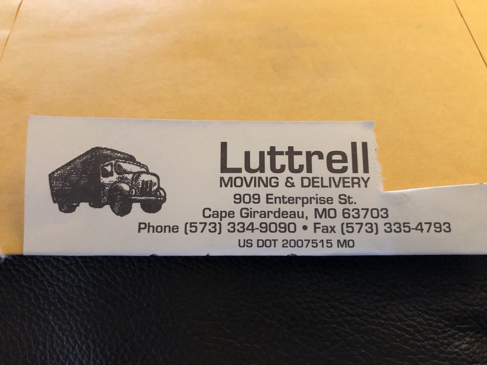 Luttrell Moving: 909 Enterprise St, Cape Girardeau, MO