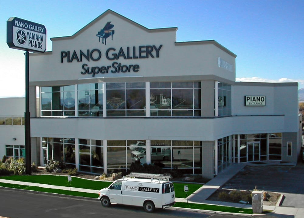 Piano gallery superstore in murray yelp for Yamaha piano dealer near me