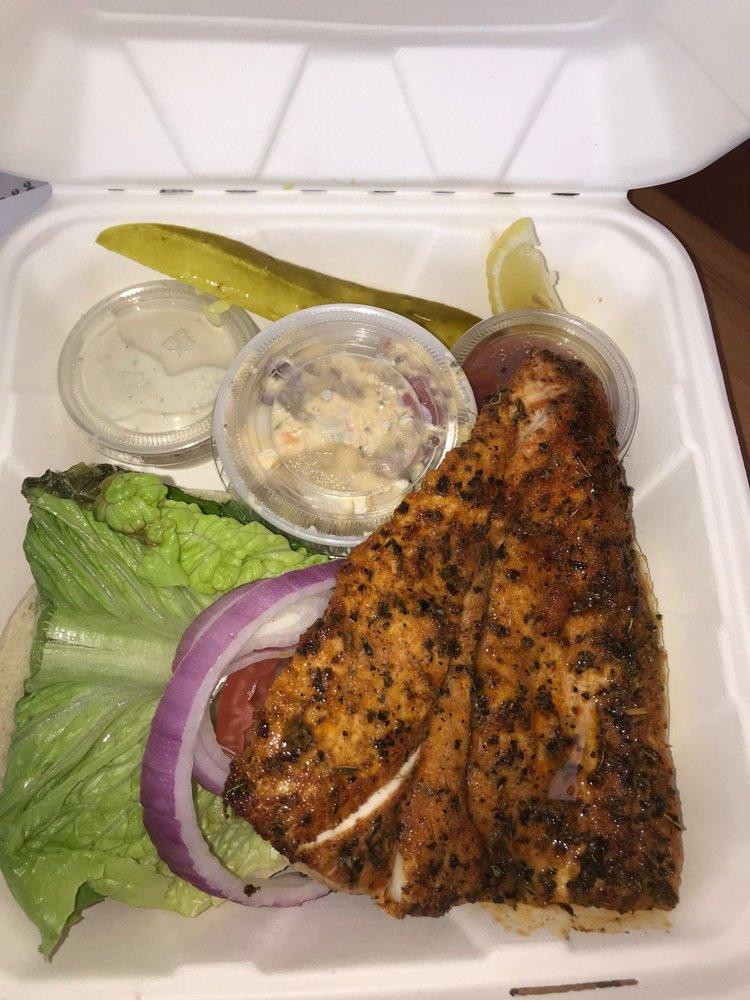 Ocean's Seafoods Beachside: 601 E 3rd Ave, New Smyrna Beach, FL