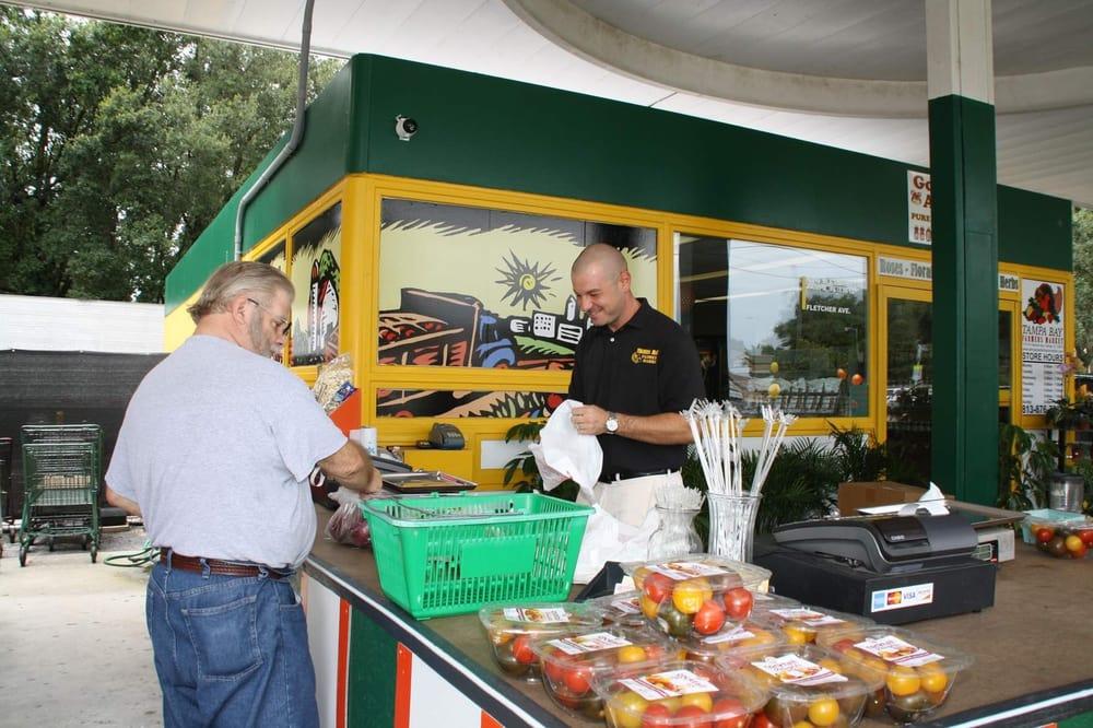 Tampa Bay Farmers Market: 1718 W Fletcher Ave, Tampa, FL