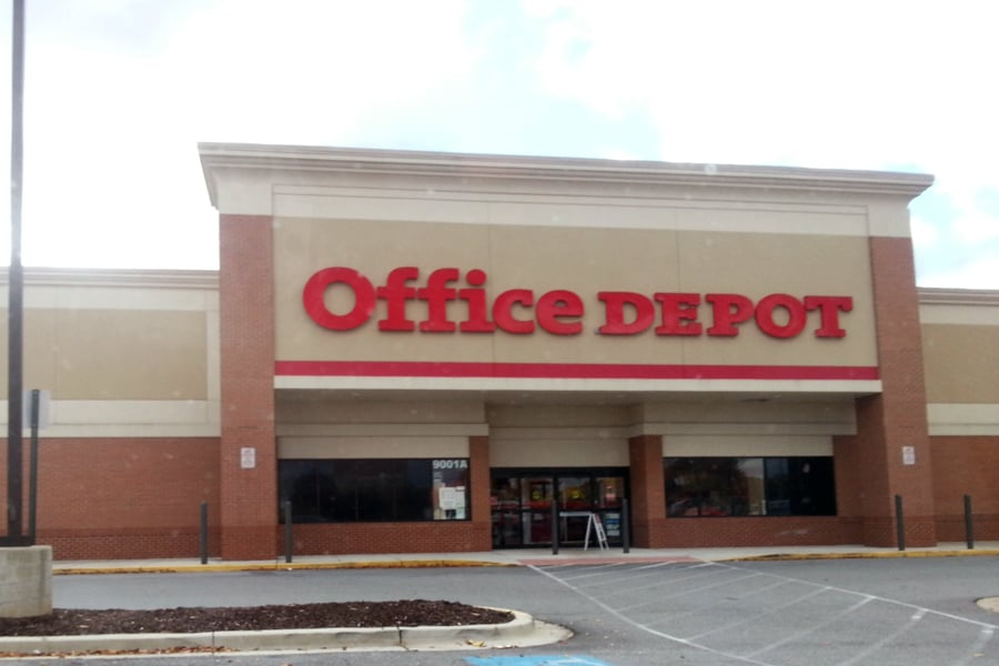 Office depot closed office equipment 9001 woody ter for Furniture 7 phone number