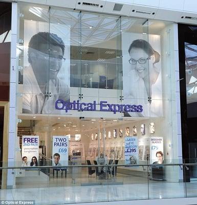 5e8488917bb Optical Express White Rose Leeds - Laser Eye Surgery   Lasik ...