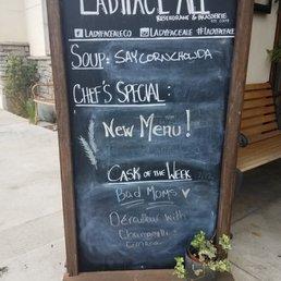 Ladyface menu