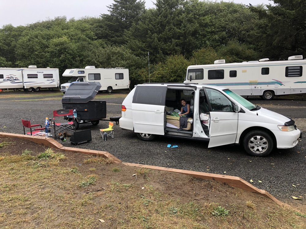 Screamin Eagle Campground: 17 2nd Ave, Ocean Shores, WA