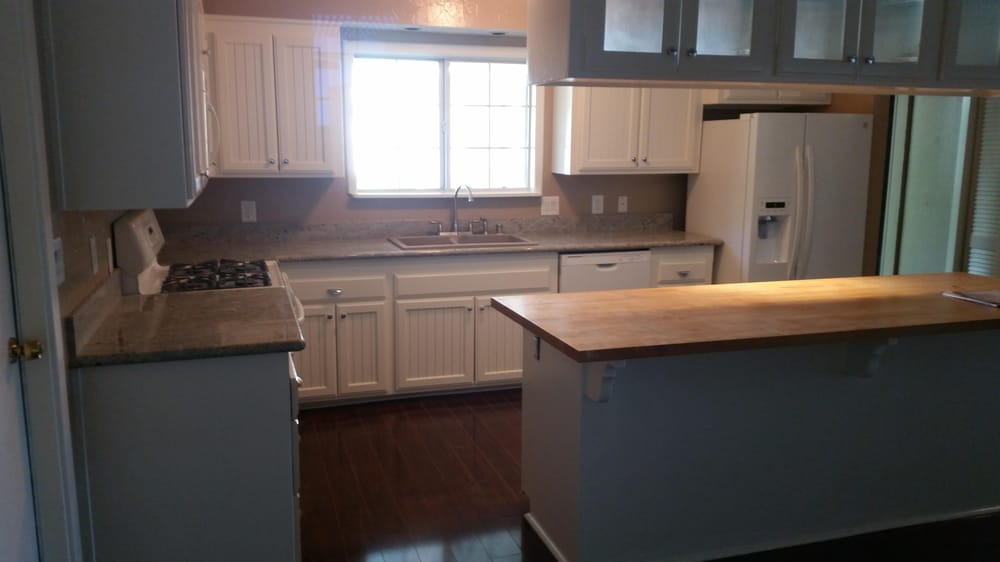 Remodel Kitchen Add 3 New Cabinets To Create More Counterspace