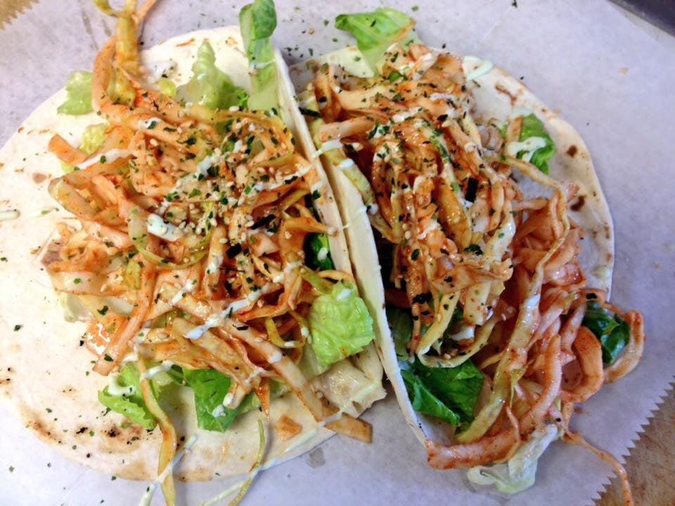 Asian fish tacos sauteed wild alaskan flounder fresh for Flounder fish tacos