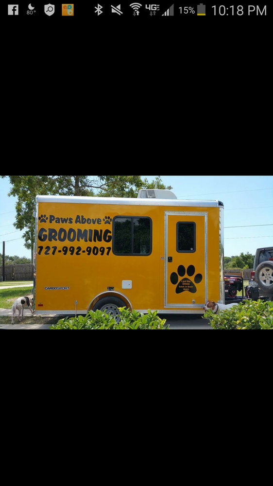 Paws above Mobile Pet Grooming: Hudson, FL