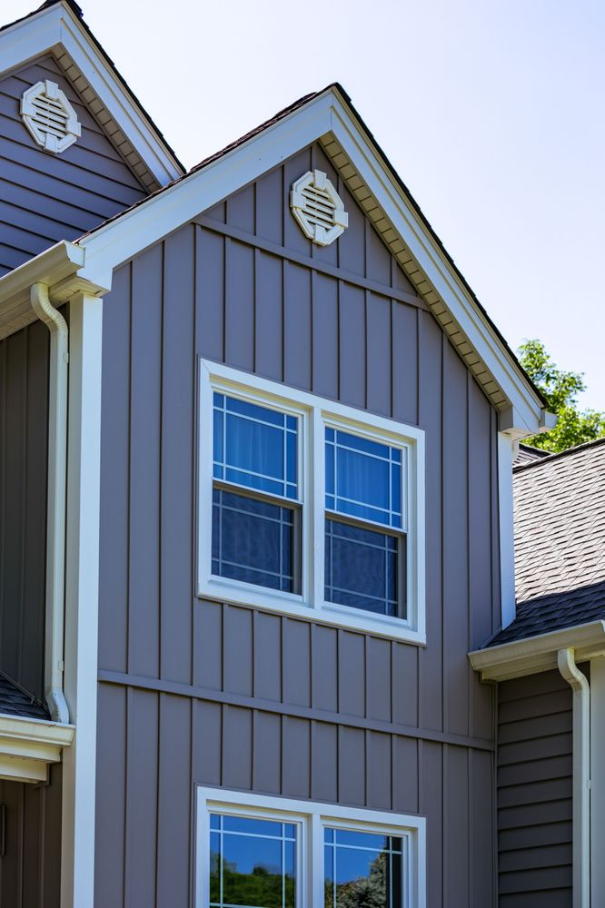 Double Hung Window with Queen Anne Grids - Yelp