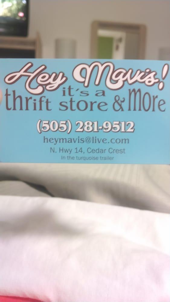 Hey Mavis!: 12150 N Hwy 14, Cedar Crest, NM