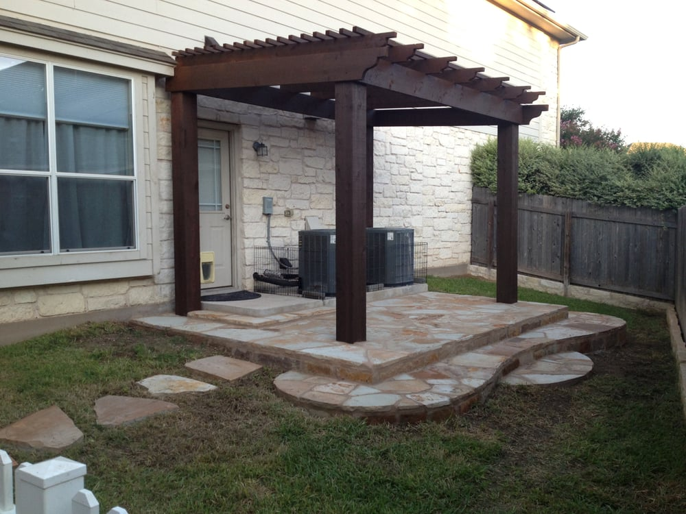 Side Yard Patio And Pergola Yelp