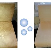 Tile Floor Before And After Photo Of Cleanpro Gloucester Ma United States Chair Upholstery